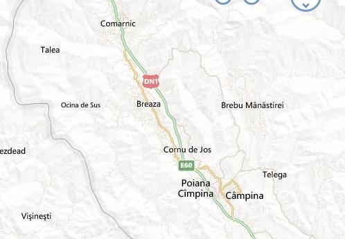 Statiunea Breaza Din Romania Harta Statiunii Breaza Harta Online